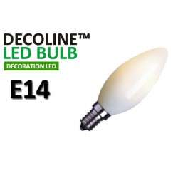 Kronlampa LED Decoline Opal 0,7W E14 Varmvit