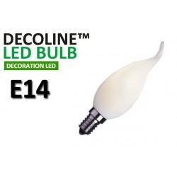 Kronlampa Romance LED Decoline Opal 0,9W E14 Vit