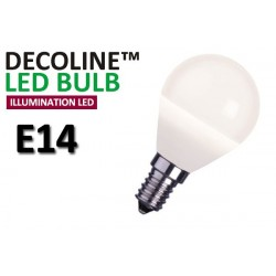 Klotlampa LED Decoline Illumination Opal 2W E14 Varmvit