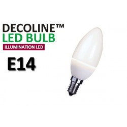 Kronlampa LED Decoline Illumination Opal 2W E14 Varmvit