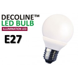 Normallampa LED Decoline Illumination Opal 2W E27 Varmvit
