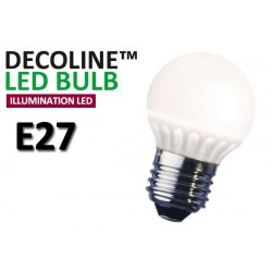Klotlampa LED Decoline Illumination Opal 3,2W E27 Varmvit
