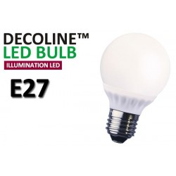 Normallampa LED Decoline Illumination Opal 4W E27 Varmvit