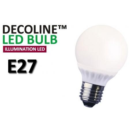 Normallampa LED Decoline Illumination Opal 4W E27 Varmvit