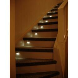 Steplight - Trappbelysning IP68 7 Steg