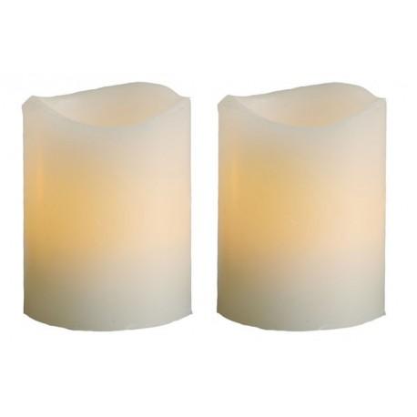 Vaxljus LED 2-pack