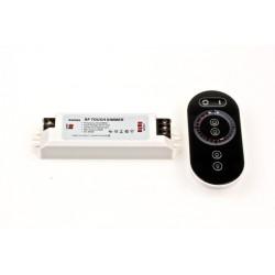 2-Kanal RF Touch kontroll för justerbar LED-tejp 12-24 Volt