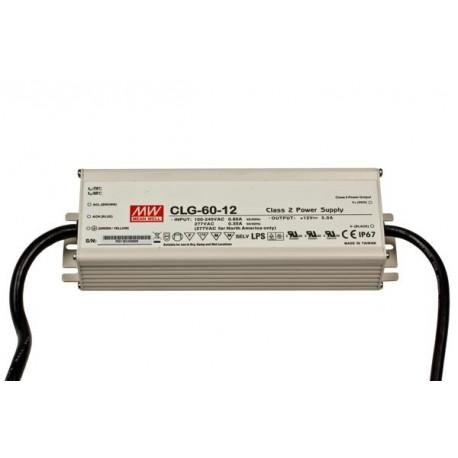 60w LED-transformator 12v för utomhusbruk
