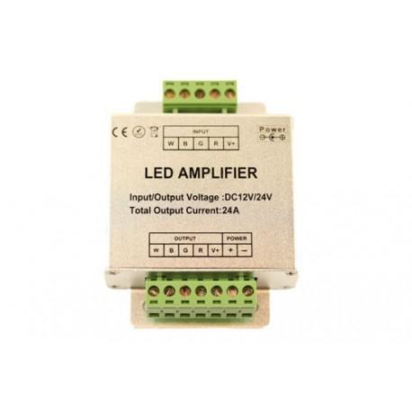 RGBW-Dimmer-Förstärkare - 4 kanaler