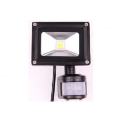 10w Sensorstrålkastare 230v COB IP65