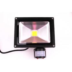 20w Sensorstrålkastare 230v COB IP65