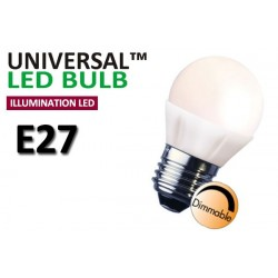 Dimbar 5W Klotlampa E27 LED Decoline Illumination