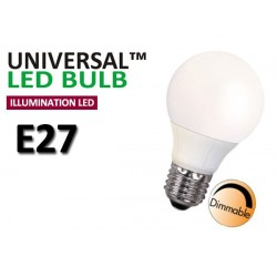 Dimbar 7,5W Normallampa E27 LED Decoline Illumination