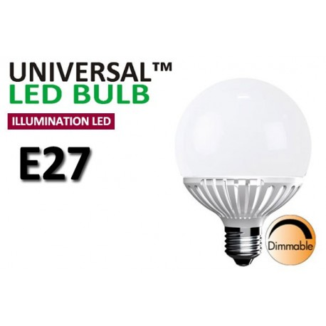 Dimbar 9W Globlampa E27 LED Decoline Illumination