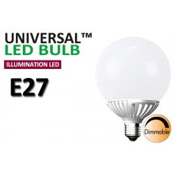 Dimbar 10W Globlampa E27 LED Decoline Illumination