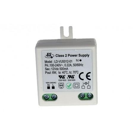 Trafo för eldosor 230V/12V 6 Watt