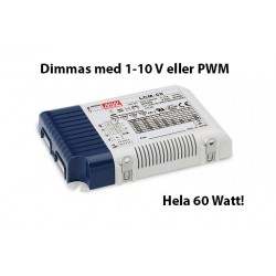 LCM-60 MeanWell dimmbar multidrivare 60 Watt