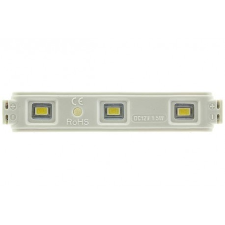 LED-modul 3 dioder 10-pack 12V 1W