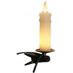 Julgransbelysning med droppar Vit 10 LED