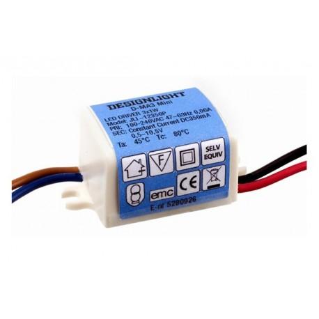 3W Drivare för eldosor 230V/350mA