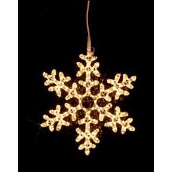 Snowflake Ljusslang Siluett 50cm