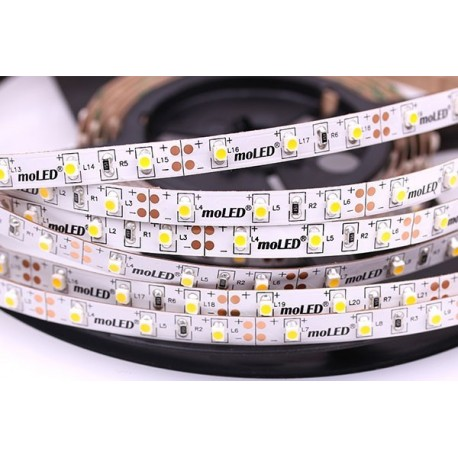 "LED-tejp ""Super 1"" Varmvit 400 Lumen/m Lödfri skarvning!"