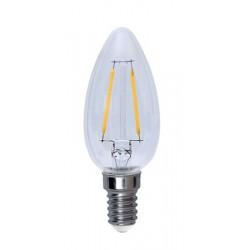 Illumination LED Klar Filament E14 Kron 2700K 2W