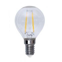 Illumination LED Klar Filament E14 Klot 2700K 2W