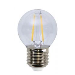 Illumination LED Klar Filament E27 Klot 2700K 2W