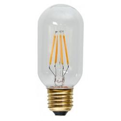 Decoration LED Klar Filament T45 E27 2100K 2W