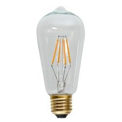 Decoration LED Klar Filament E27 2100K 2W