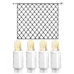 System LED Nät Extra 3x3m 192 ljus Vit Kabel