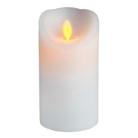 Vaxljus LED Rörlig, Flimrande Låga med Timer