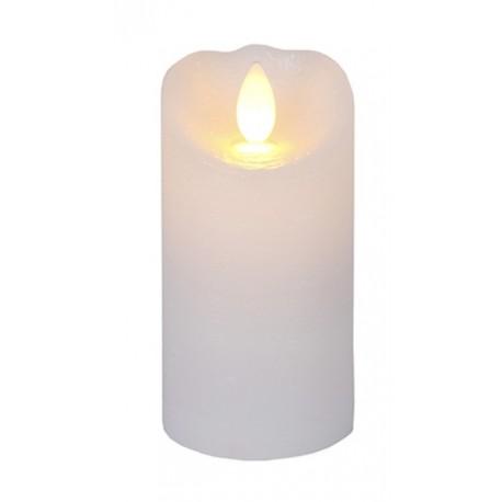 Glow Vaxljus LED Vit, Rörlig Låga med Timer