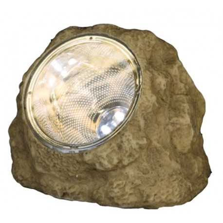 Sten med LED-ljus