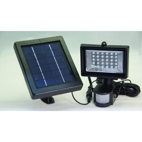 Solcellsladdad åtelbelysning med PIRsensor