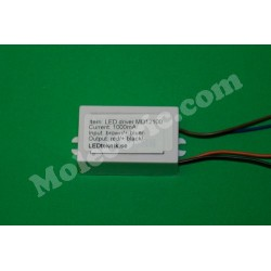 Power LED-driver 7-24V DC 1000mA BOOSTER