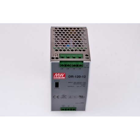 Elektronisk trafo för DIN-montering 120 Watt