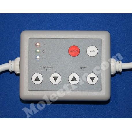 RGB-Styrning 12 Volt, Bar-modell 144 Watt, med RF fjärrkontroll