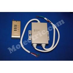 DMX-Styrning 12-24 Volt, RF fjärrkontroll 144 Watt
