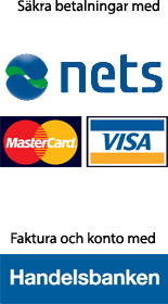 Betala enkelt med kort eller konto