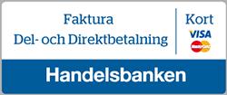 Betala med Handelsbanken Faktura eller konto